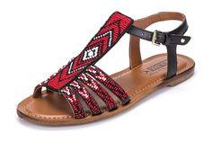 Asili 941-7633M:Maasai Sandal for Women Pikolinos
