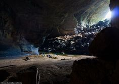 Dive into the world's largest cave, mesmerizing Son Doong cave in Vietnam.