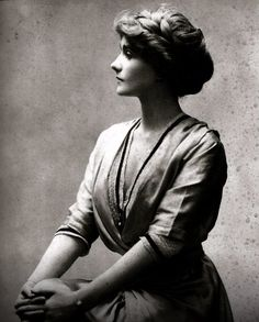 "Portrait of a young Gabrielle ""Coco"" Chanel in 1910"