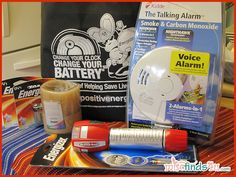$78 Win this Energizer Family Fire Safety Home Kit at MiscFinds4u.com
