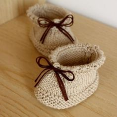 Baby Booties - Easy to Make