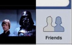 Darth Vader and Luke Skywalker are Friends?!