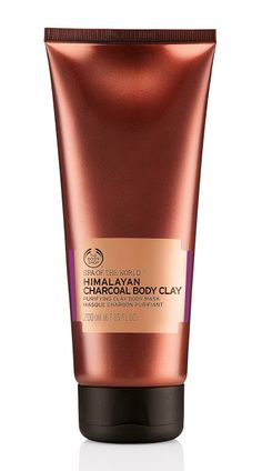 Body mask 'Himalayan Charcoal Body Clay' by The Body Shop