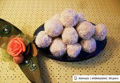 Fehér csokoládés kókuszgolyók | NOSALTY – receptek képekkel