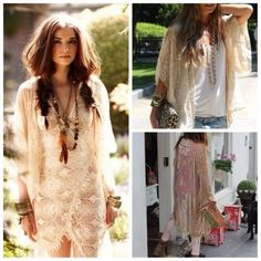 Boho Chic Lace and Style