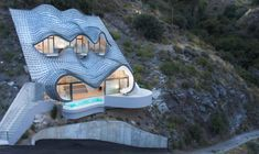 Dragon-Inspired Cliff House in Spain