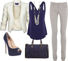 This outfit would work for the office, date night, or just hanging out with friends. It's sophisticated yet casual.