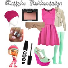 """Disney Outfits: Taffyta Muttonfudge"" by jas67angel on Polyvore"