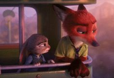 Nick Wilde: [after Nick relates his story to Judy] I learned two things that day: one, that I was never going to let anyone see that they got to me.  Judy Hopps: And... two?  Nick Wilde: That if the world's only going to see a fox as shifty and untrustworthy, there's no point in being anything else.