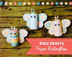 Get The Kids Crafting With Our DIY Butterflies Includes A Free Template