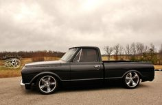 Hot Rod Dirty CO. Chevy C10, Chevy Trucks, Hot Rods, Old School, Antique Cars, Vintage Cars