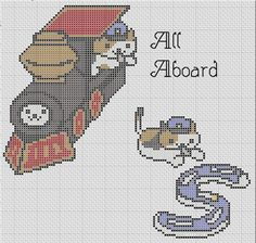 Conductor Whiskers All Aboard Train Neko by TheSoftScientist