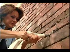 ▶ Installing a Brick Veneer Wall - YouTube - Would love to do this in the Master bedroom