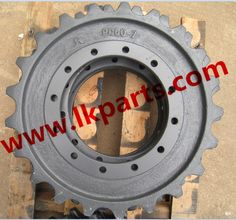 Komatsu pc60-7 sprocket#undercarriage parts#Undercarriage parts for various…