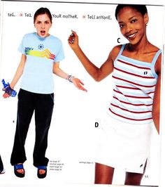 What better way to pay homage to the demise of dELiA*s than by making me scan an entire 1998 catalog that my friend Loren wrote all over?