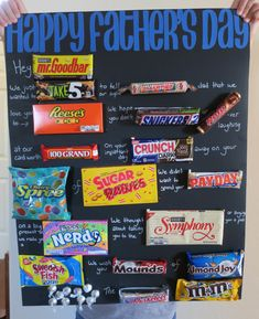 Father's Day Candy Bar Poster Candy Bar Poems, Candy Bar Cards, Candy Birthday Cards, Candy Messages, Candy Bar Signs, Candy Sayings, Homemade Fathers Day Gifts, Diy Gifts For Dad, Fathers Day Crafts