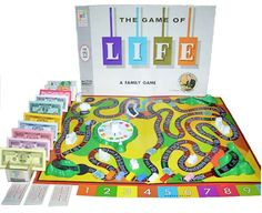 The Game Of LIFE -- playing was a part of growing up when there were no X-boxes, Nintendos, etc.