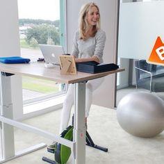 Werk je fit en ga bewegen tijdens het werk!