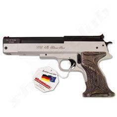 Weihrauch HW 45 Silver Star Luftpistole 5,5mm Diabolos