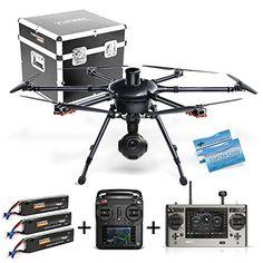 Yuneec Hexacopter H920 Tornado V18 Full HD Cam Kofferset 3 Akkus 2 Fernsteurungen