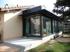 Façade avec extension par ALEXANDRA BETANCOURT ARCHITECTE