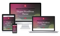 MH Elegance WordPress Theme by MH Themes on Creative Market