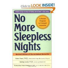 No More Sleepless Nights (9780471149040)