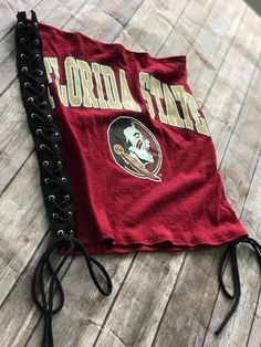 891b3f9577 Florida State Seminoles Lace Up Tube Top   Tailgate Clothing   Game Day Top    College Clothing   FSU   Florida Gift   Graduation Gift