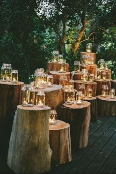 Romantic Enchanted Forest Wedding Ideas: Create The Dream! Filled with greenery, lights, moss and so romantic, let's delve into the magical world of woodland enchanted forest wedding ideas. SEE DETAILS. Outdoor Wedding Decorations, Wedding Themes, Wedding Colours, Wedding Advice, Wedding Flowers, Diy Flowers, Table Decor Wedding, Wedding Theme Ideas Unique, Wedding Breakfast Decor