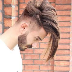 Men's Toupee Human Hair Hairpieces for Men inch Thin Skin Hair Replacement System Monofilament Net Base ( Medium Hair Styles, Short Hair Styles, Hair Medium, Gents Hair Style, Trending Haircuts, Long Hair Cuts, Edgy Long Hair, Hairstyles With Bangs, Updos Hairstyle