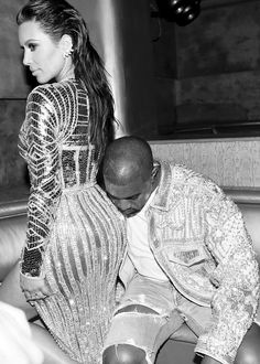 Kim & Kanye at the 2016 MET Gala After Party