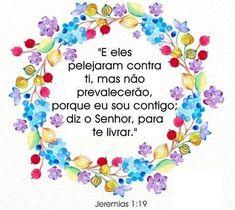 DEUS ESTÁ NO CONTROLE DE SUA VIDA!!! MENSAGENS God Bless You, Decoupage, Blessed, Bible, Faith, Words Of Love, Psalms, Verses, Inspirational Quotes