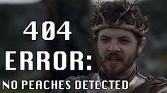 Was it too much to ask to get a peach in that scene? #GameofThrones