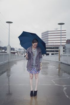 My gorgeous daughter Laurren...on a rainy day!