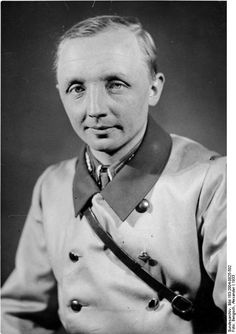 Johann von Leers (1902 – 1965) was one of the most important ideologues of the Third Reich, serving as a high-ranking propaganda ministry official. Postwar, he served in the Egyptian Information Department, as well as an advisor to Egyptian dictator Gamal Abdel Nasser. He published for Goebbels, in Peron's Argentina and for Nasser's Egypt. He converted to Islam, and changed his name to Omar Amin. He died in Cairo, aged 65.