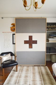 How To Build A Lightweight Sliding Barn Door (full picture tutorial!)  vintagerevivals