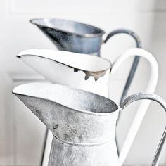 Antique French pitchers