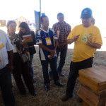 Produtores rurais de Águas Lindas visitam a Agrobrasília 2014