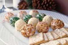 Holiday Cheese Truffles   Holidays
