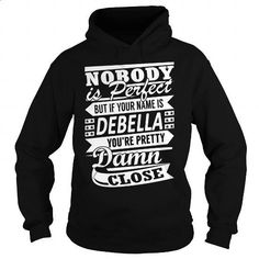 DEBELLA Pretty - Last Name, Surname T-Shirt - #boyfriend gift #graduation gift