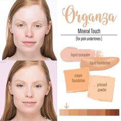 Younique Organza Liquid Powder Cream Foundation Light Pink Undertone
