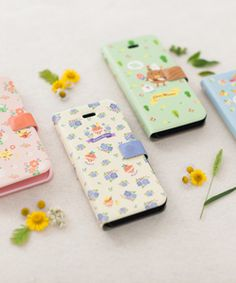 Macaroon Pattern Leather Flip CoverHappyMori specializes in quality cell phone cases designed at the design studio in South Korea. You