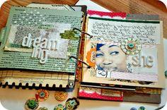 great scrap journal  smash book