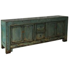 1stdibs   Shandong Blue Credenza- for under the mirror in the dining area..