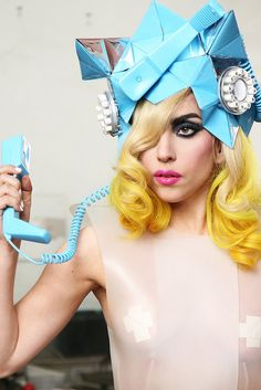 Lady Gaga Telephone. Love this look especially the makeup.