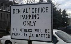 I think my office needs to change their parking signs...