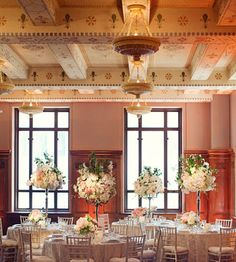 One of the newest wedding venues in Dallas, 400 North Ervay a beautiful renovated Post Office
