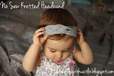 Coffee With Caitlin: Pinterest Mondays: No Sew Knotted Headbands