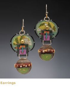 Lauren Pollaro Jewelry Gallery, One of a Kind Earrings, Necklaces, Brooches, Wearable Works of Art