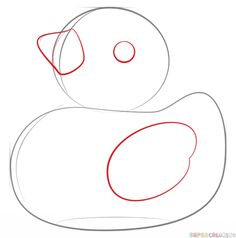 How to draw a rubber duck  Rubber duck Drawings and Doodles